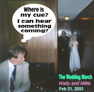 Wally's & Millie's Wedding