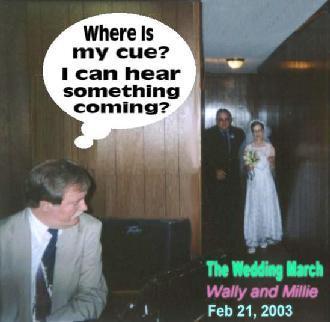 Wally's & Millie's Wedding